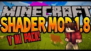 DESCARGAR E INSTALAR SHADERS 1.8 / 1.8.8 Sombras MINECRAFT MOD Colorized