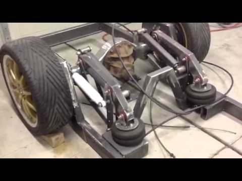 Cantilever Air Bag Set Up Youtube