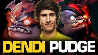 Dendi Pudge Mid vs Puck - THE LEGEND IS BACK!!   Pudge Official