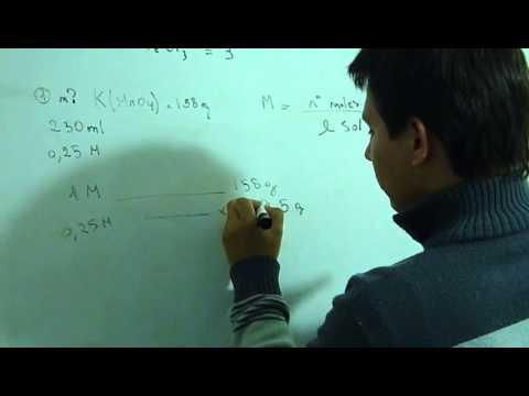 soluciones - molaridad (calcular masa de soluto)