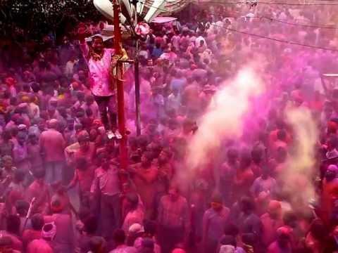 Holi Festival 2013 in Bikaner ,Rajasthan ,India