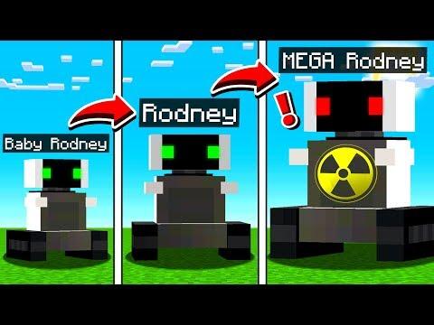 LIFE OF RODNEY IN MINECRAFT!