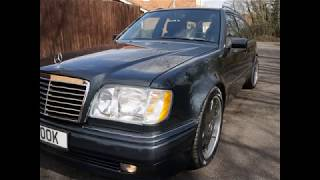 MERCEDES BENZ W124 500E ESTATE BUILD BY MERCLAND
