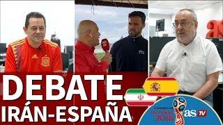 download musica Irán-España Debate previo al segundo partido de La Roja en el Mundial 2018 desde Kazán Diario AS