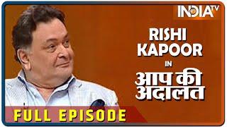 Rishi Kapoor in Aap Ki Adalat 2016 (Full Episode)