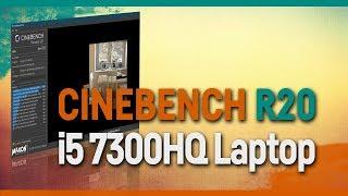 CINEBENCH R20 - i5 7300HQ - ACER ASPIRE VX 15