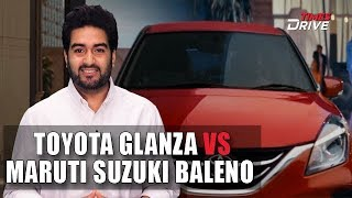 Toyota Glanza vs Maruti Suzuki Baleno : Differences Explained
