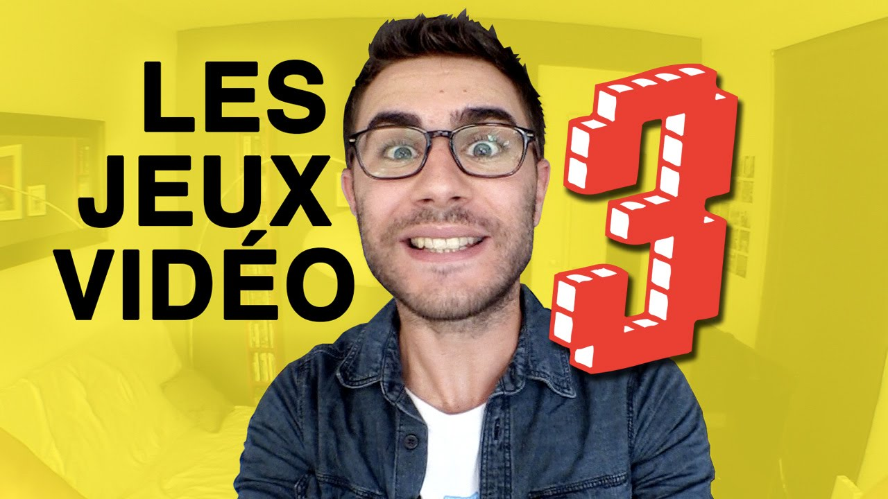 cyprien les jeux vid o 3 youtube. Black Bedroom Furniture Sets. Home Design Ideas