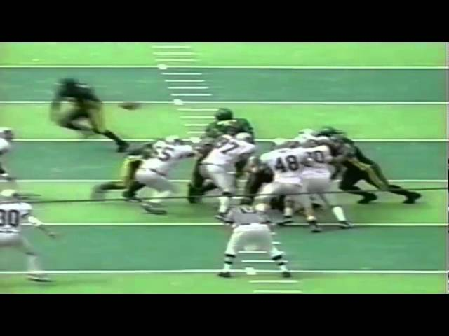 Oregon RB Maurice Morris 66 yard touchdown run vs. Nevada 9-02-2000