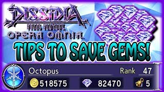 How I Got Over 82,000 Gems & Tips To Save Up ~ 2 Yuna Weapon Pulls! ~ Opera Omnia