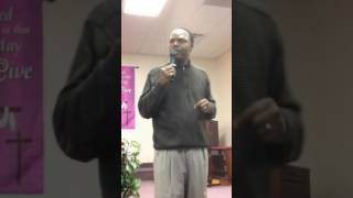 Pastor B.D. Gerald Preached in the book of St. Mark 9 : 50  10 / 9 / 16