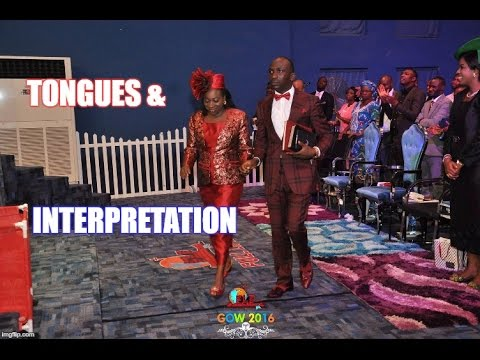 Dr Paul & Becky Enenche- Tongues & Interpretation Exemplified
