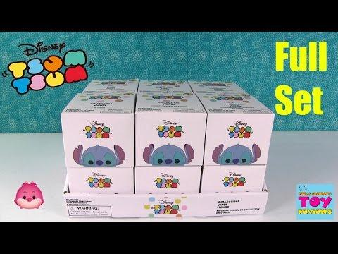 Disney Tsum Tsum Vinylmation Figures Series 1 Blind Box Opening Disney Store Exclusive | PSToyReview
