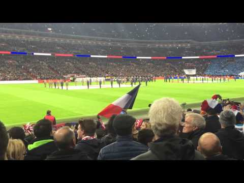 Le Marseillaise - France v. England at Wembley Stadium 11/17/2015