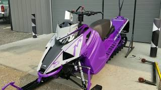 2019 ALPHA ONE M8000 Mountain Cat Arctic Cat FIRST LOOK!