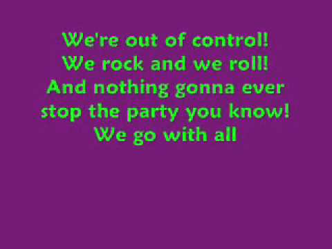 We Like To Sleep all day and party all night lyrics sean kingston