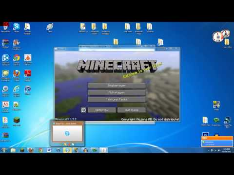 Minecraft 1.7.2 | How To Install HD Texture Packs- Sphax Pure BDCraft (MC-Patche