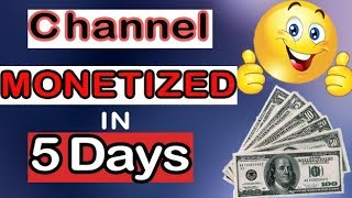 MONETIZATION Approved ll My Channel Complete 1000 Subscribes and 4000 Watch Hours