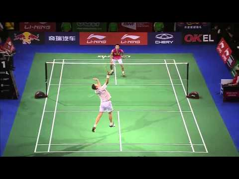 SF - 2014 BWF World Championships - Lee Chong Wei vs Viktor Axelsen