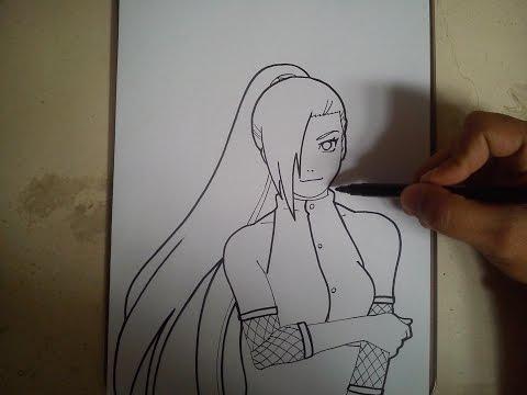COMO DIBUJAR A INO - NARUTO / how to draw ino - naruto