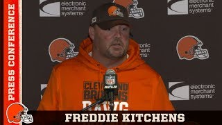 Freddie Kitchens Recaps Week 2 Victory & Fixing More Mistakes | Browns Press Conference