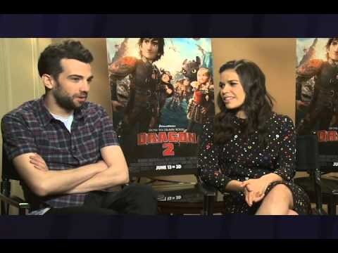 Jay Baruchel, America Ferrera, Dean Deblois On Sidewalks Entertainment video