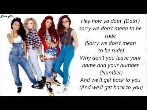 Little Mix & Missy Elliott - How Ya Doin' ? (Pictures + Lyrics)