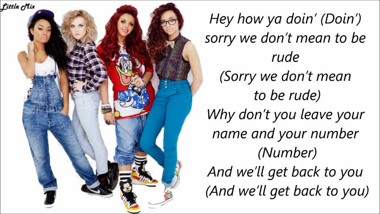 LITTLE MIX - HOW YA DOIN'? LYRICS - SONGLYRICS.com