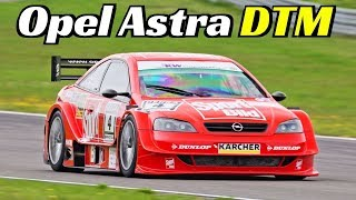 460Hp Opel Astra DTM by Heup Motorsport - 4.0-liter V8 engine - Actions & Sound at the Nürburgring!