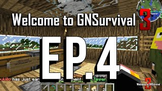 Welcome to GNSurvival 3 EP.4 เรามาเริ่มสร้างบ้านกัน