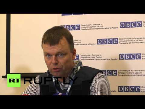 Ukraine: Ceasefire continues to be breached - OSCE