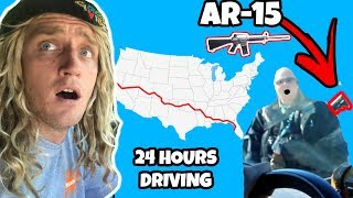 Driving For 24 Hours Straight (GOES WRONG)