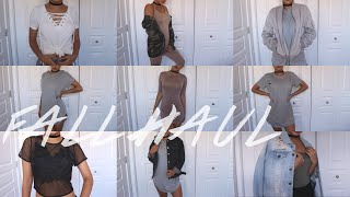Fall Try-On Clothing Haul! ft. FashionNova, WearAll, Public Desire! | Maria Bethany