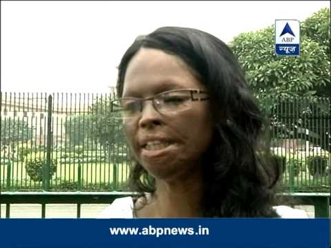 Lakshmi, an acid attack victim who fought against acid attacks in India