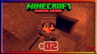 MineCraft || #02 - La mina extensa y la nueva forma de usar la antorcha || by #CypherReagan