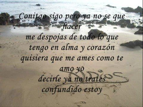 letra de mi amor perdido divino: