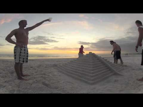Florida Sunset Time Lapse - GoPro HD Hero 2