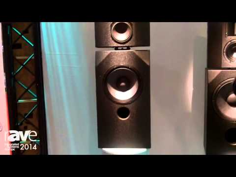 ISE 2014: alcons Audio Presents Its CRMS Cinema Reference Monitor System Loudspeakers