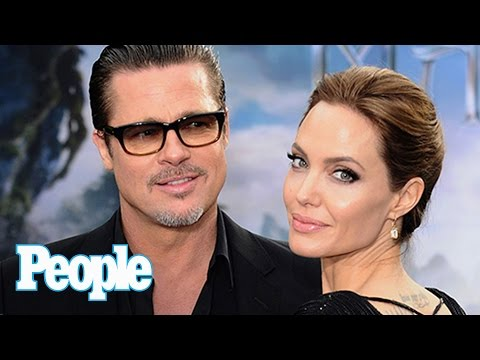 Angelina Jolie & Brad Pitt: Divorce Statements Calculated? | People NOW | People