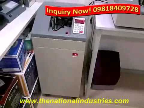 CURRENCY COUNTING MACHINE WITH FAKE NOTE DETECTOR IN MAINPURI