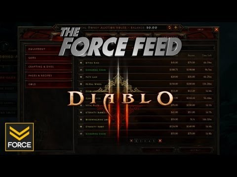 The Force Feed - Diablo 3 Problems Discussed