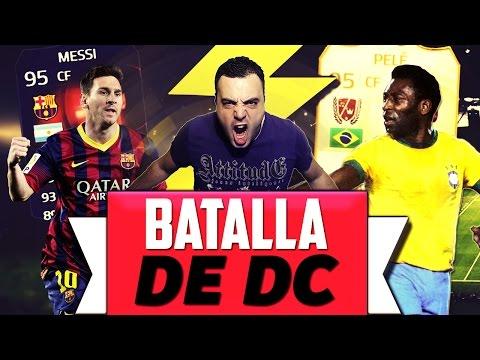 Fifa 15 | BATALLA DC | MESSI RB Vs PELÉ LEYENDA