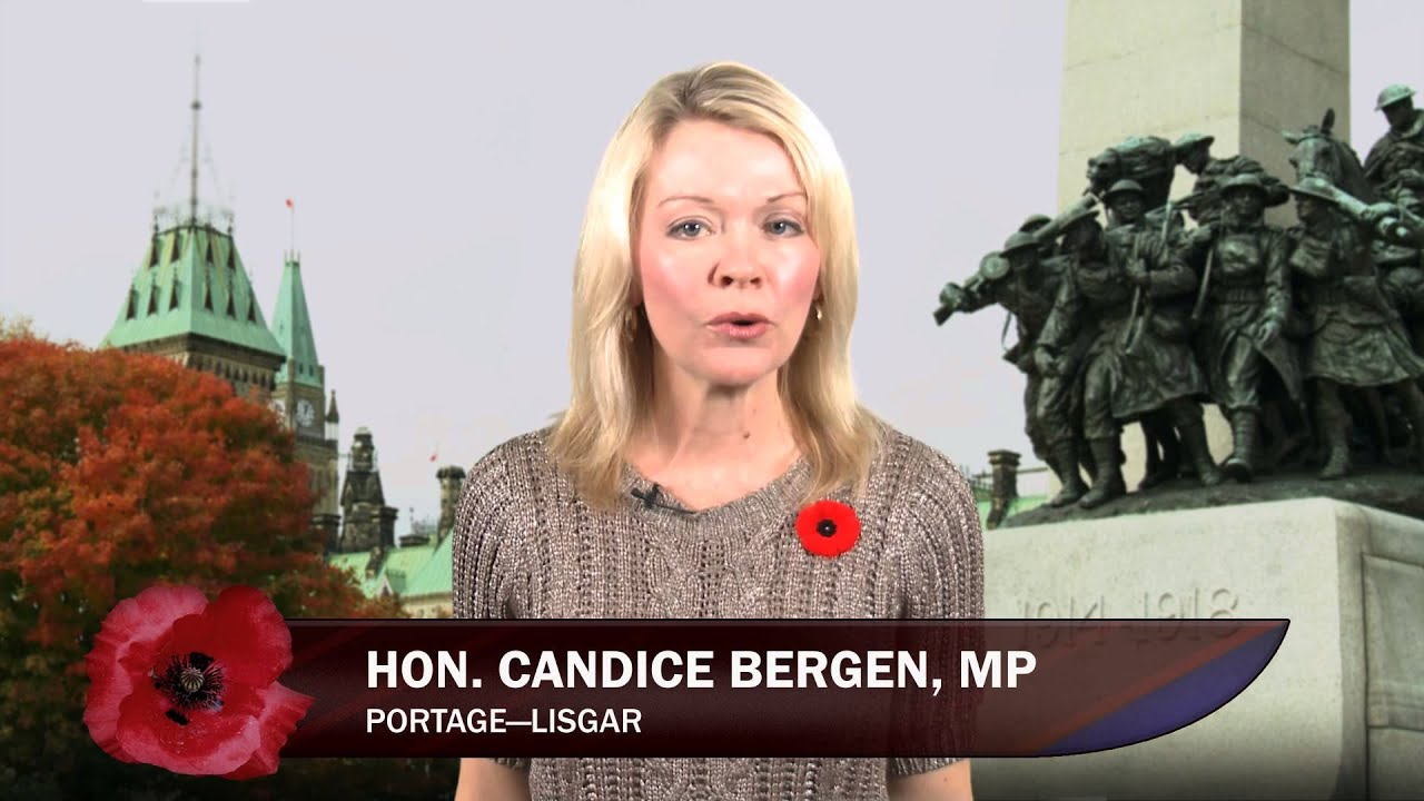 Candice Bergen mp mp Candice Bergen Remembrance