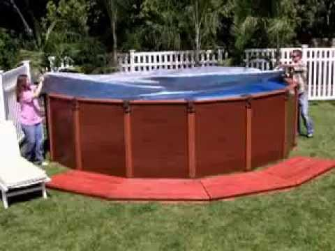 Intex wood grain frame pool 569x135cm