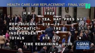 """Democrats Taunt GOP After Obamacare Repeal Vote By Singing """"Goodbye"""""""