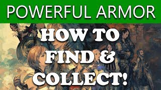 Final Fantasy XII The Zodiac Age HOW TO GET LORDLY ROBES & GRAND ARMOR - Treasure Guide