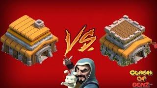 บ้านเล็กขอวอร์ บ้าน5 VS บ้าน8 - Clash of Clans - Clans War