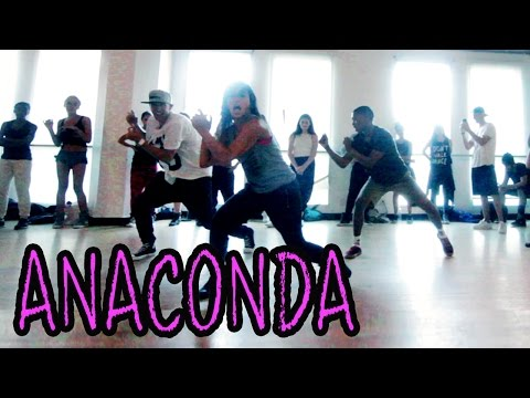 ANACONDA - NickiMinaj Dance Video | MattSteffanina Hip Hop Choreography...