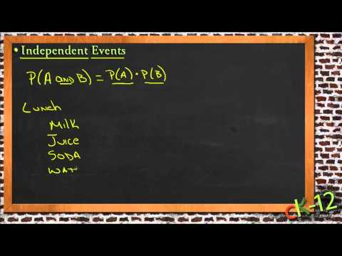 Independent Events: A Sample Application