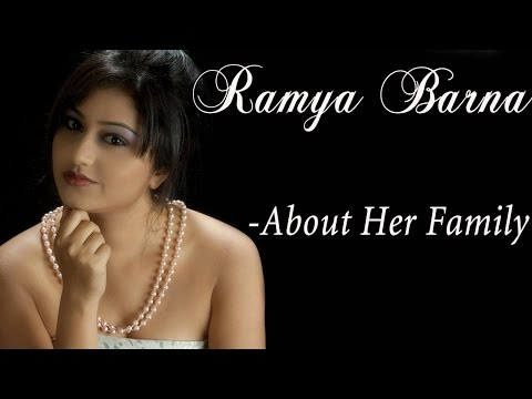 Ramya Barna About Her Family